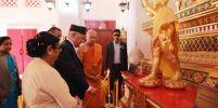 นายกรัฐมนตรี  ประเทศเนปาล ทำบุญวันวิสาขบูชาที่วัดไทยลุมพินี