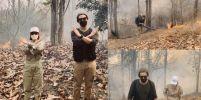 เป๊ก-นิว ลงพื้นที่ติดตามทีมดับไฟป่า ในวันที่เชียงใหม่มีมลพิษติดอันดับ 1 ของโลก