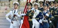 ฉลองวันชาติ! ชาวจีนร่วมพิธีเชิญธงชาติขึ้นสู่ยอดเสา ณ จัตุรัสเทียนอันเหมิน