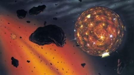 เพชรในหินอุกกาบาตของซูดานชี้ถึงกำเนิดระบบสุริยะ