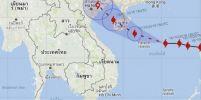 กรมอุตุฯออกประกาศฉบับที่ 3 เตือนเรื่อง พายุไต้ฝุ่น 'ซาเระกา' (SARIKA)