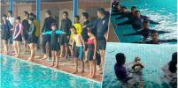 สุรินทร์นำร่องดำเนินการแก้ปัญหาเด็กจมน้ำ ฝึกหลักสูตรทักษะการเอาชีวิตรอดทางน้ำ