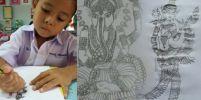 อัศจรรย์ !! น้องไอซ์ เด็กป.1 อายุ 6 ขวบ ฝีมือวาดภาพเทียบเท่าผู้ใหญ่ โดยไม่มีใครสอน