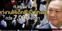 เปิดรับสมัคร นักเรียน-นักศึกษา ทำงานช่วงปิดเทอม กว่า 7,000 อัตรา !!!
