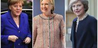 สามผู้หญิงเก่งของโลก คลินตัน/ แมร์เคิล/ เมย์... ฤาจะเป็นปีแห่งผู้นำหญิง?
