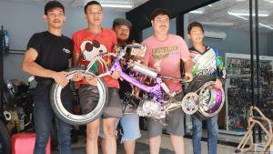สุดยอดเด็กไทย ชนะเลิศรางวัลจักรยานยนต์ประดิษฐ์