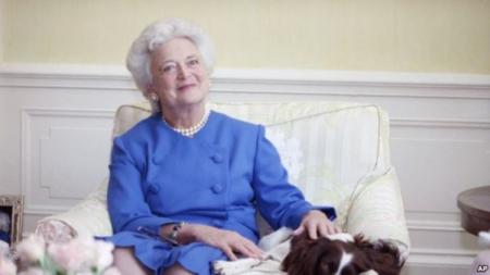 'บาร์บารา บุช' อดีตสุภาพสตรีหมายเลขหนึ่งของสหรัฐฯ เสียชีวิตแล้ว