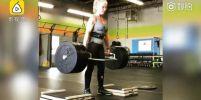 คุณยายวัย 70 สุดสตรอง!!! ออกกำลังกายมา 10 ปี ยกน้ำหนักได้ถึง 135 กิโลกรัม