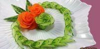 วิธีแปลงร่าง แครอท & แตงกวา เป็นดอกกุหลาบ !!!