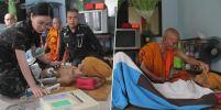 รพ.ทหารช่วย 'หลวงปู่ยอด' อายุ106ปี พระสงฆ์5แผ่นดินอุตรดิตถ์