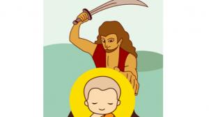 สามเณรสังกิจจะ : สามเณรใจเพชร ผู้สร้างศรัทธาให้โจร 500 คน ได้บวชในพระพุทธศาสนา (12/14)