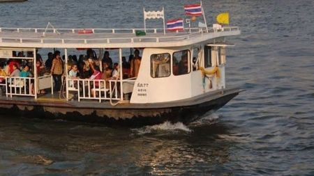 กรมเจ้าท่า แจ้งเปลี่ยนเวลาการให้บริการเรือโดยสาร ข้ามฟากในแม่น้ำเจ้าพระยา