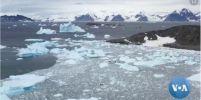 อุณหภูมิในเขตขั้วโลกใต้พุ่งแตะระดับสูงสูดเป็นประวัติการณ์