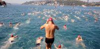 ว่ายน้ำข้ามทวีป! จุดเริ่มต้นเอเชียไปยุโรป ทั่วโลกแห่ร่วมงานกว่า 2,000 คน
