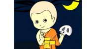 โสปากะสามเณร : ผู้เกิดและบรรลุเป็นพระอรหันต์ในป่าช้า (14/14)