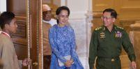 มิน อ่อง ลาย  ผู้บัญชาการทหารสูงสุดพม่ายันกองทัพทำหน้าที่ภายใต้รัฐบาลออง ซาน ซูจี