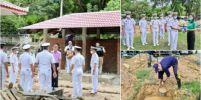 กองทัพเรือส่งนักรบ สอ.รฝ.100นาย พัฒนาความเจริญสู่วัดโรงเรียนชุมชนบ้านฉาง