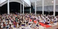 ชาวไทย-เมียนมาร์ ร่วมสวดมนต์ ปฏิบัติธรรมวันพระ