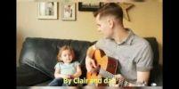 พ่อลูกดูโอ ร้องเพลง