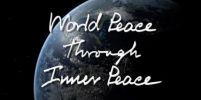ร่วมสร้างสันติภาพภายนอก(โลก) ผ่านสันติสุขจากภายใน(ใจ) ของเราทุกคน กันเถอะครับ