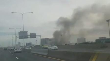 เกิดเหตุไฟไหม้!! อาคารสำนักงานหนังสือพิมพ์บ้านเมือง ย่านจตุจักร