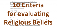 Buddhism EP. 13 : The 10 Criteria for Religious Beliefs !?!