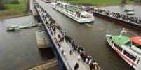 เหลือเชื่อ !! สะพานคลองข้ามแม่น้ำแห่งเดียวในโลก