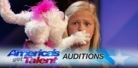 เด็กอายุ12โชว์หุ่นเชิดไม่ธรรมดาคว้าGolden BuzzerจากAmerica's Got Talent กวาดยอดวิวเพียบ
