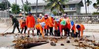ประจวบฯ ประสานความร่วมมือ เก็บขยะ 10 ตันชายหาดหัวหิน