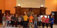 ชาวสกอตแลนด์  ศึกษาสมาธิที่วัดพระธรรมกายสกอตแลนด์