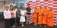 วัดพระธรรมกายโตเกียว มอบปัจจัยช่วยเหลือผู้ประสบอุทกภัยในญี่ปุ่น