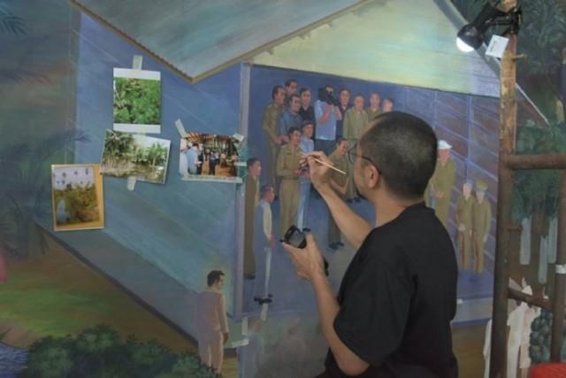 จิตกรเชี่ยวชาญ ลงสีภาพเหมือนบุคคล 46 โครงการพระราชดำริ กำหนดแล้วเสร็จ 15 ก.ย. นี้