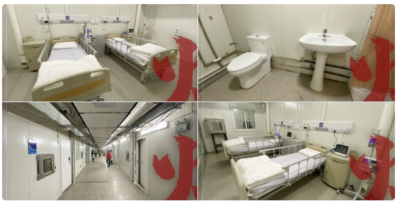 จีนเตรียมเปิดใช้ โรงพยาบาลใหม่ วันนี้ หลังใช้เวลาสร้าง 8 วัน