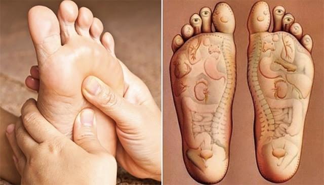 มานวดเท้า..เพื่อสุขภาพ ช่วยป้องกันและรักษาโรคและกระตุ้นอวัยวะต่างๆ