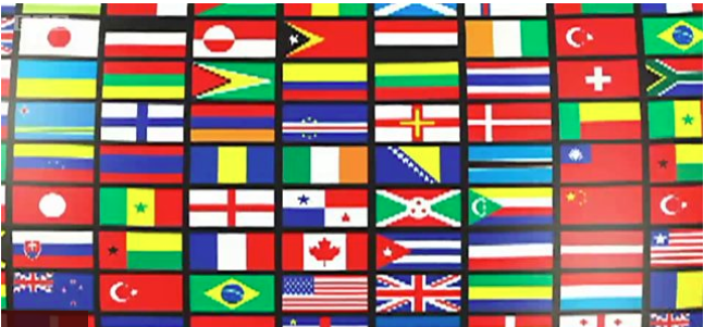 สีอะไรที่ธงชาติ(เกือบ)ทั่วโลกไม่มี?