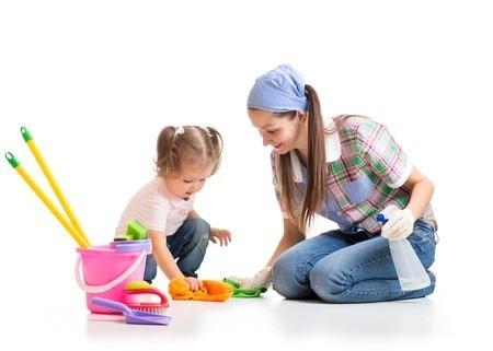 ให้ลูกน้อยช่วยทำงานบ้านเป็นผลดีกับชีวิตของลูก