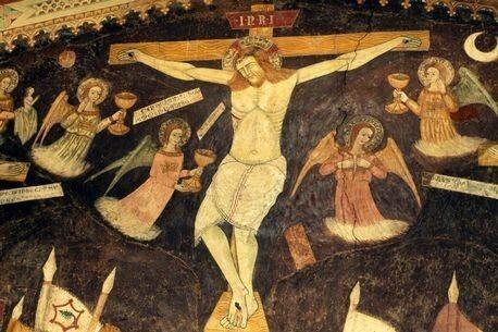 พบหลักฐานพระเยซูไม่ได้ถูกตรึงด้วยไม้กางเขน