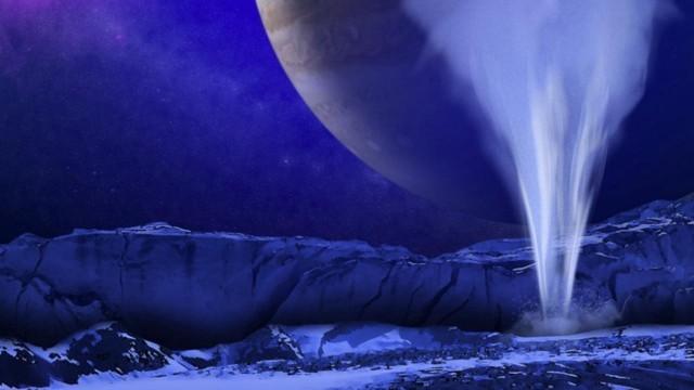 การพบน้ำพุบนผิวดวงจันทร์ยูโรปา จะหนุนต่อการศึกษาสิ่งมีชีวิตนอกโลก