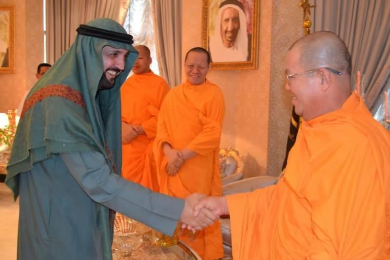 เศรษฐีชาวอาหรับ ชื่นชมคำสอนพุทธสร้างสันติสุขให้แก่ทุกคน