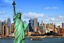 สายรุ้งที่เกิดขึ้นกลางมหานครนิวยอร์ก