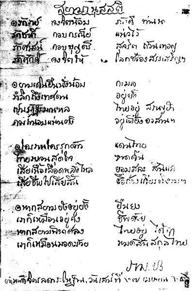 สยามานุสสติ..การระลึกถึงประเทศสยาม พระราชนิพนธ์ในสมัยรัชกาลที่ 6