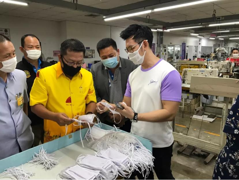 ซาบีน่ายโสธรช่วยคนไทย ผลิตหน้ากากผ้าสู้โรคโควิด-19