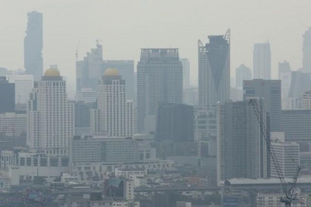 กรมควบคุมมลพิษ รายงานสถานการณ์ฝุ่นละออง ในพื้นที่กรุงเทพมหานคร  มีแนวโน้มเพิ่มสูงขึ้นทุกพื้นที่