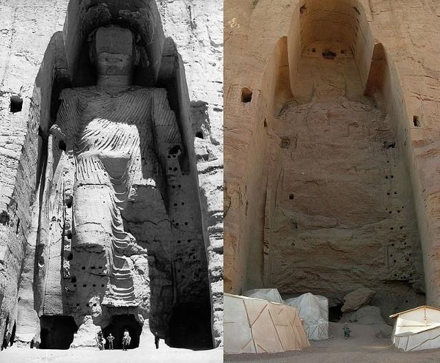 ดั่งปาฏิหาริย์ ! พระพุทธรูปแกะสลักบามิยันในอัฟกานิสถาน กลับมาอีกครั้งในองค์สีทองอร่ามเรืองรอง