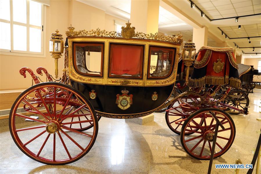 อียิปต์เปิด 'พิพิธภัณฑ์รถม้าพระที่นั่ง' หลังปิดนานเกือบ 20 ปี