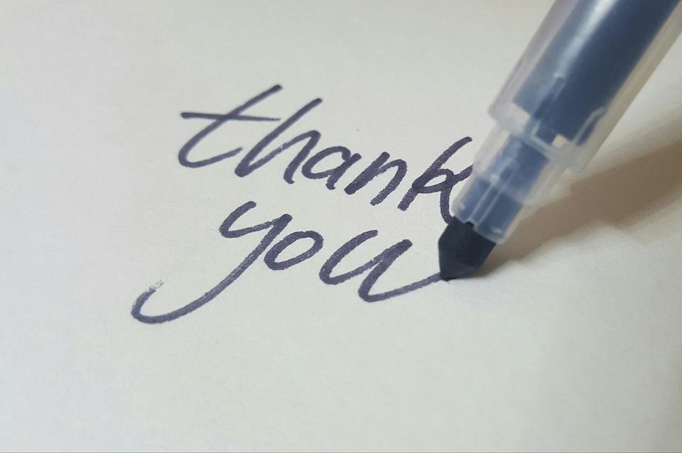 อย่าให้การขอบคุณเป็นสิ่งที่ถูกลืม
