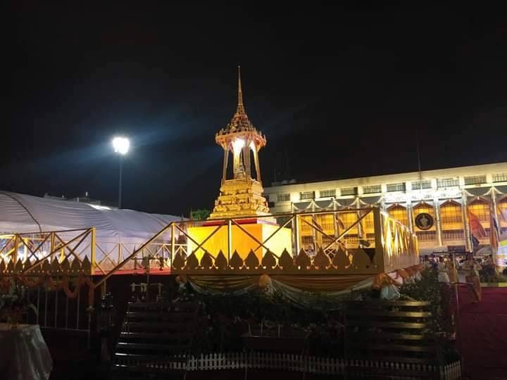 กรุงเทพฯ จัดพิธีเวียนเทียนรอบพระบรมสารีริกธาตุ เนื่องในเทศกาลวิสาขบูชา