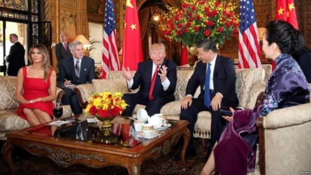 นายสีจิ้นผิง ประธานาธิบดีจีนเดินทางถึงมลรัฐฟลอริดาพบทรัมป์แล้ว