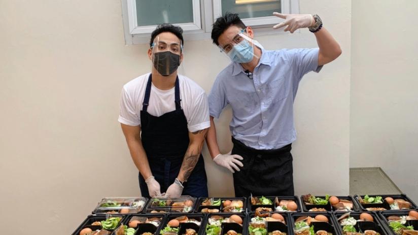 """""""ธันวา สุริยจักร"""" ชวนเพื่อนเชฟทำอาหารให้บุคลากรการแพทย์"""