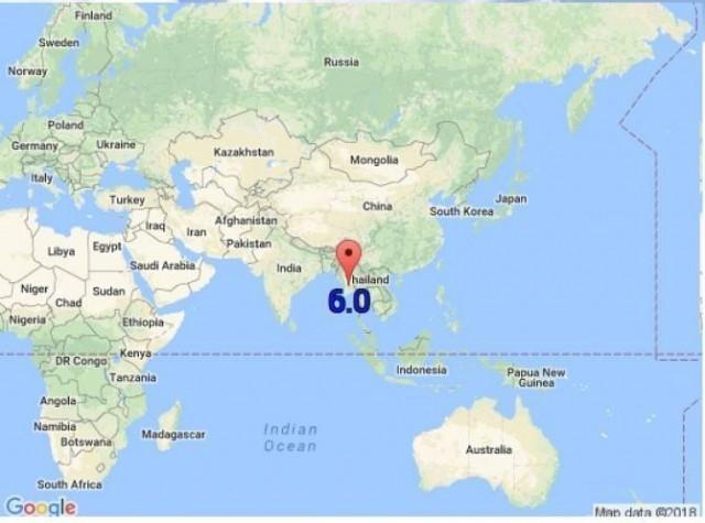 แผ่นดินไหวที่พม่า 6.0 ริกเตอร์!!!